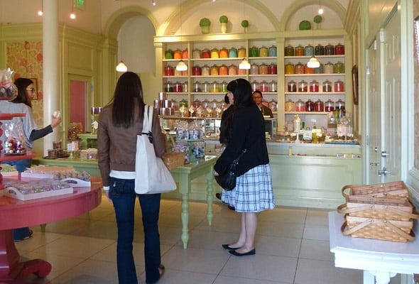 Miette, a SF based candy store, is always filled with customers.