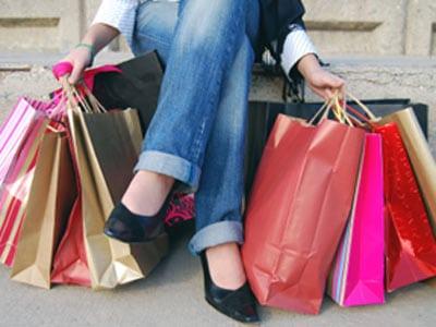 Even dedicated shoppers need a break.