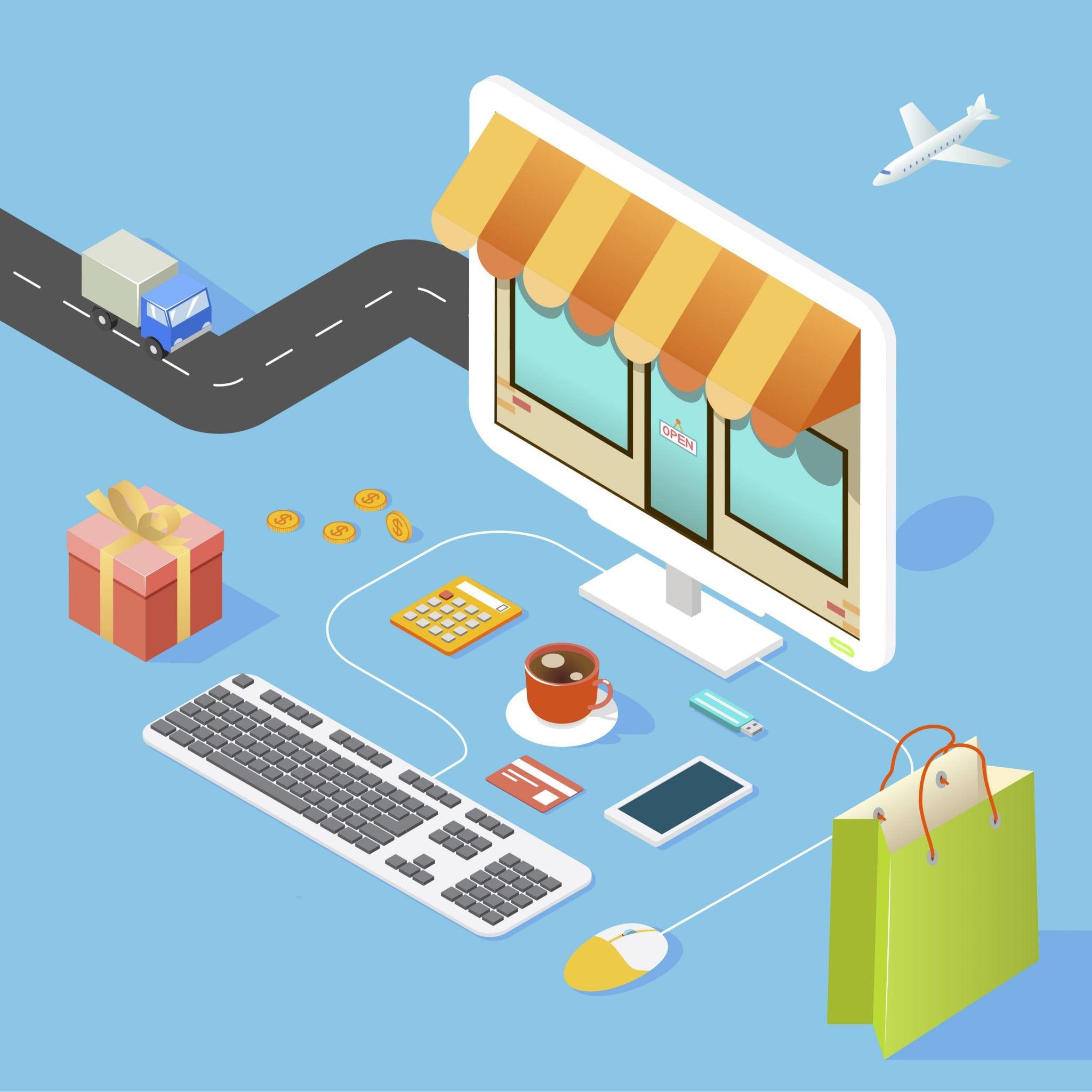 case study about online shop websites
